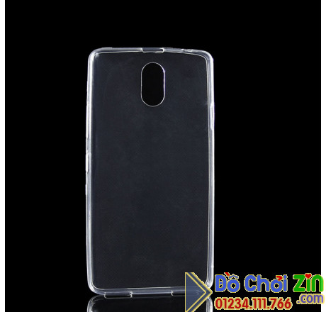 Ốp lưng Lenovo Vibe P1M silicone trong suốt