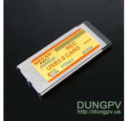 Express card 34 mm to 2 usb3.0 v2