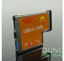 Express card 54 mm to 2 usb 3.0 v2