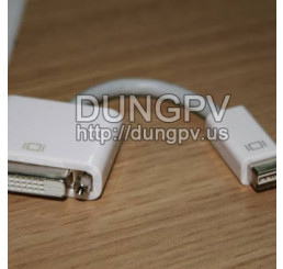 mini DVI to DVI adapter